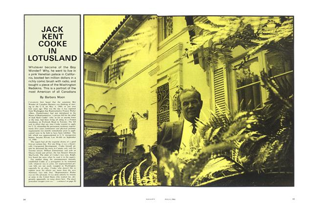 Article Preview: JACK KENT COOKE IN LOTUSLAND, July 1964 | Maclean's