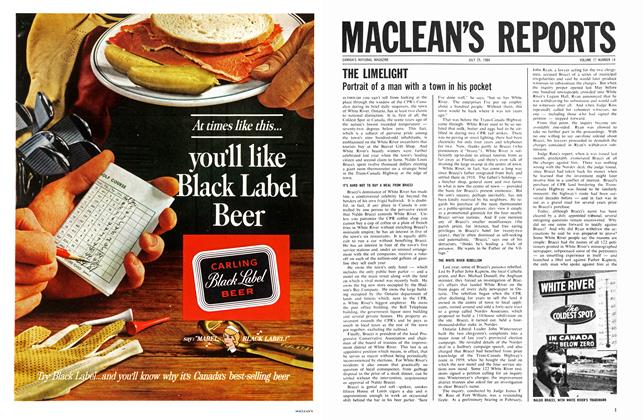 Article Preview: THE LIMELIGHT, July 1964 | Maclean's