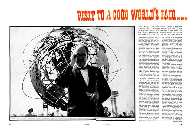 Article Preview: VISIT TO A GOOD WORLD'S FAIR..., August 1964 | Maclean's