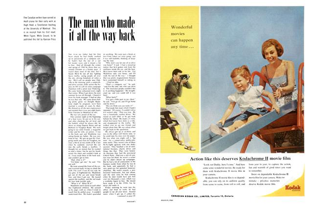 Article Preview: The man who made it all the way back, August 1964 | Maclean's