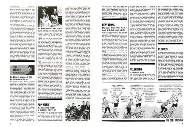 Article Preview: NEW BOOKS, August 1964 | Maclean's