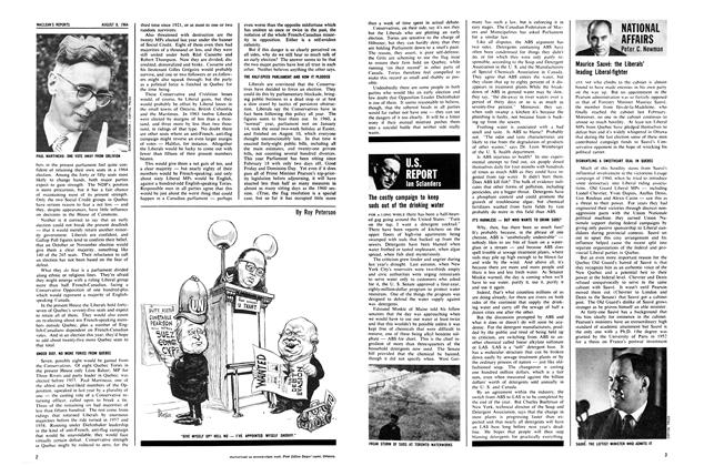 Article Preview: NATIONAL AFFAIRS, August 1964 | Maclean's