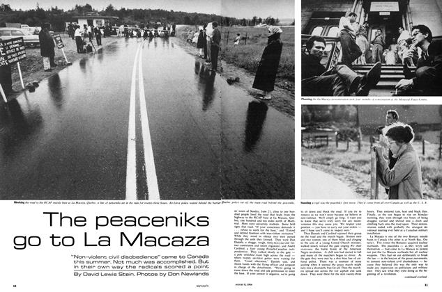 Article Preview: The peaceniks go to La Macaza, August 1964 | Maclean's