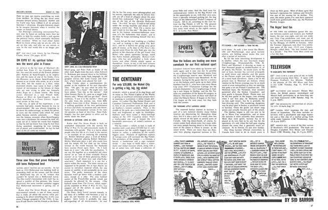 Article Preview: SPORTS, August 1964 | Maclean's