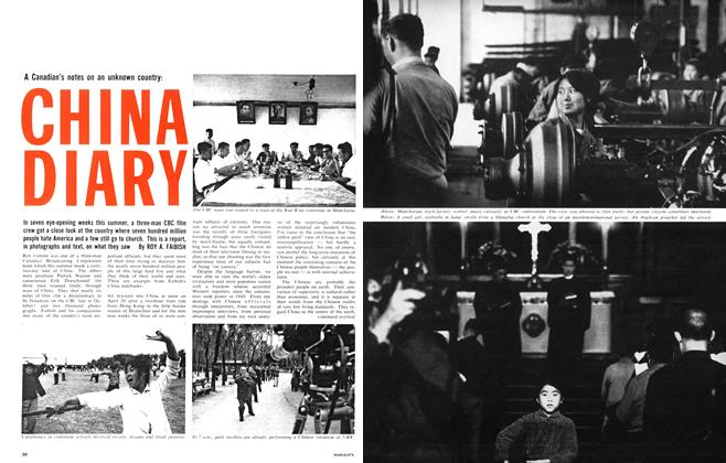 Article Preview: CHINA DIARY, September 1964 | Maclean's