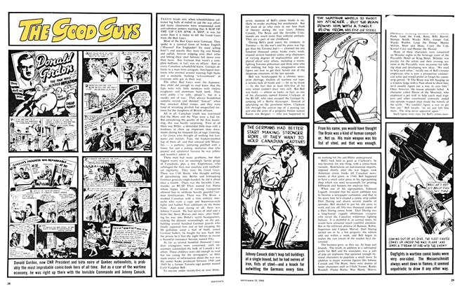 Article Preview: THE GOOD GUYS THE BAD GUYS, September 1964 | Maclean's