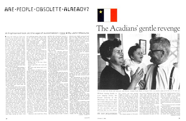 Article Preview: ARE-PEOPLE-OBSOLETE-ALREADY?, October 1964 | Maclean's