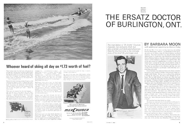Article Preview: THE ERSATZ DOCTOR OF BURLINGTON, ONT., October 1964 | Maclean's