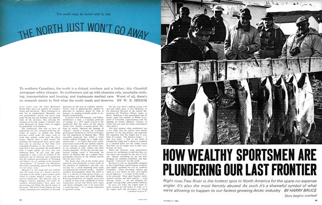 Article Preview: HOW WEALTHY SPORTSMEN ARE PLUNDERING OUR LAST FRONTIER, October 1964 | Maclean's