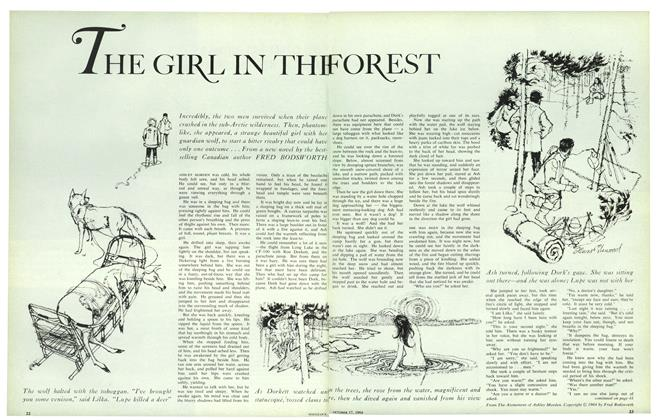 Article Preview: THE GIRL IN THE FOREST, October 1964 | Maclean's