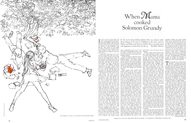 Article Preview: When Mama cooked Solomon Grundy, November 1964 | Maclean's