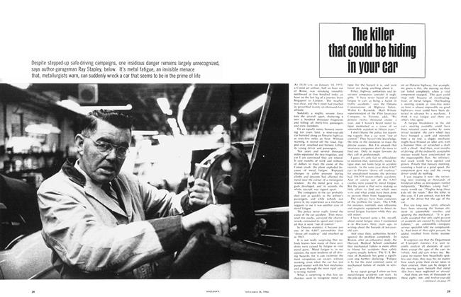 Article Preview: The killer that could be hiding in your car, November 1964 | Maclean's