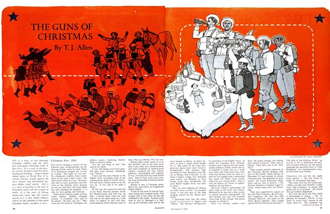 Article Preview: THE GUNS OF CHRISTMAS, December 1964 | Maclean's
