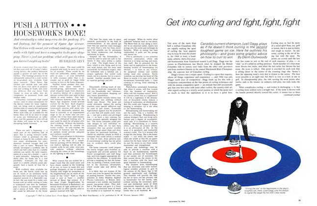 Article Preview: Get into curling and fight, fight, fight, December 1964 | Maclean's