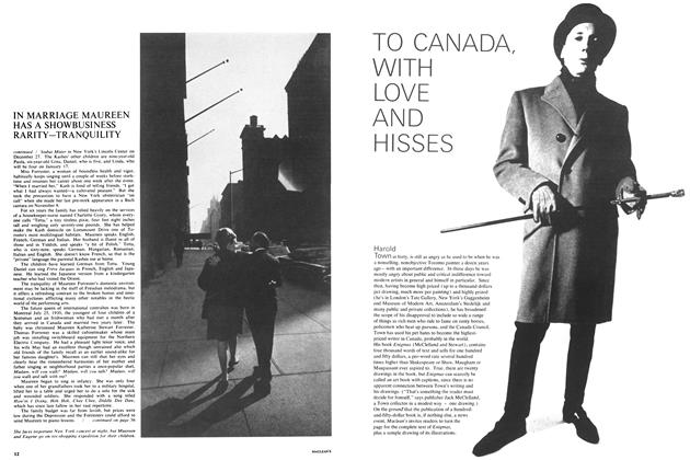Article Preview: TO CANADA, WITH LOVE AND HISSES, January 1965 | Maclean's