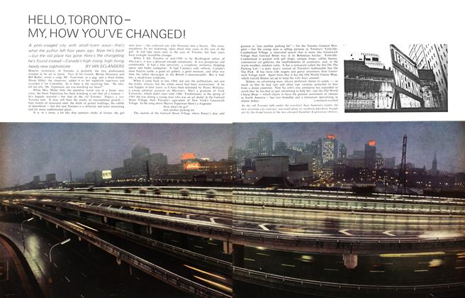 Article Preview: HELLO,TORONTOMY, HOW YOU'VE CHANGED!, February 1965 | Maclean's