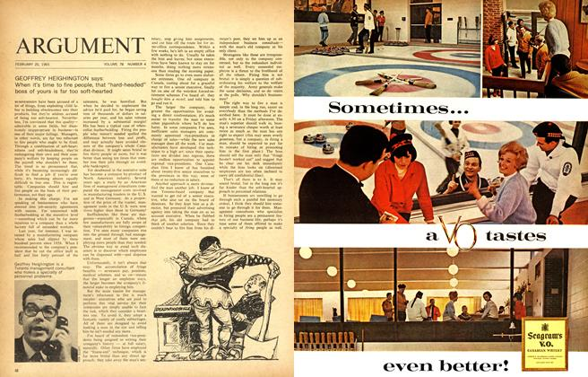 Article Preview: ARGUMENT, February 1965 | Maclean's