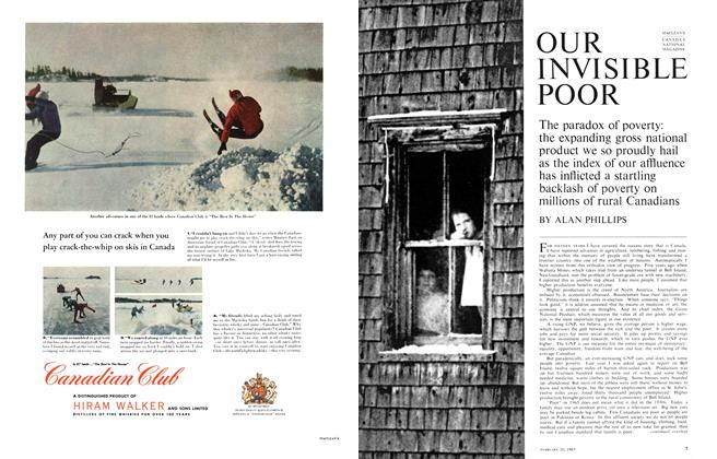 Article Preview: OUR INVISIBLE POOR, February 1965 | Maclean's