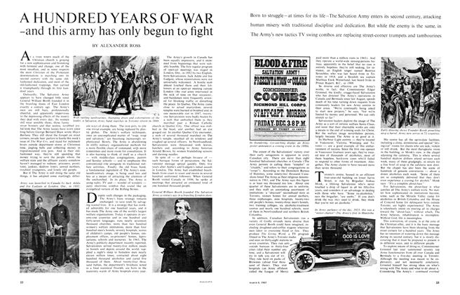 Article Preview: A HUNDRED YEARS OF WAR -and this army has only begun to fight, March 1965 | Maclean's