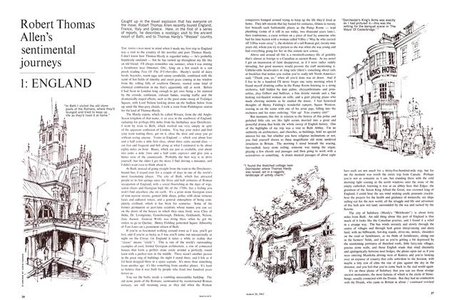Article Preview: Robert Thomas Allen's sentimental journeys 1: ENGLAND, March 1965 | Maclean's