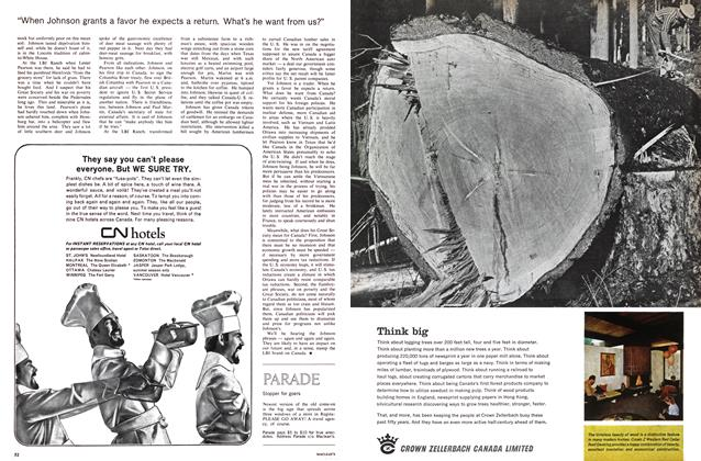 Article Preview: Stopper for goers, March 1965 | Maclean's