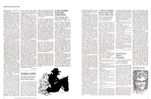 Article Preview: A BUCKAROO WITH BIG AMBITIONS, March 1965 | Maclean's
