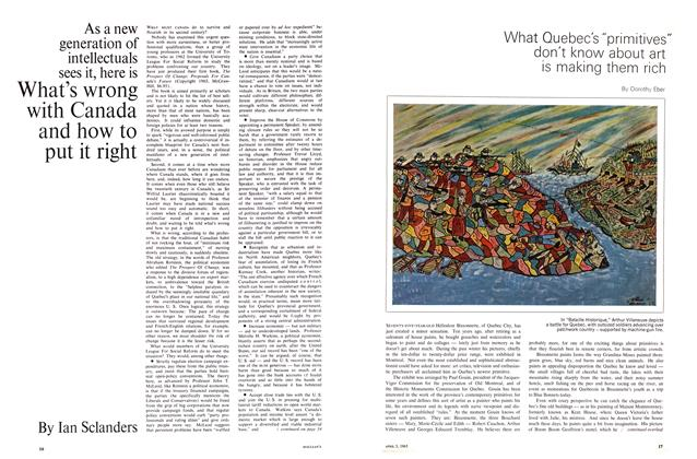 Article Preview: What's wrong with Canada and how to put it right, April 1965 | Maclean's