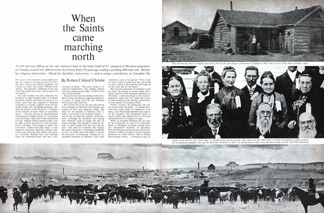 Article Preview: When the Saints came marching north, April 1965 | Maclean's