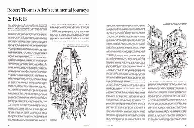 Article Preview: Robert Thomas Allen's sentimental journeys, April 1965 | Maclean's