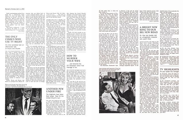 Article Preview: HOW TO MURDER YOUR WIFE, April 1965 | Maclean's