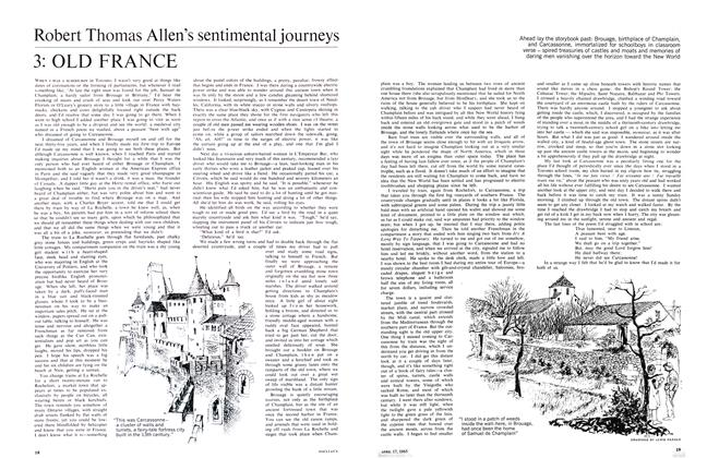 Article Preview: Robert Thomas Allen's sentimental journeys 3: OLD FRANCE, April 1965 | Maclean's