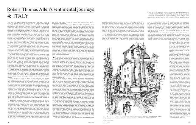 Article Preview: Robert Thomas Allen's sentimental journeys 4: ITALY, May 1965 | Maclean's