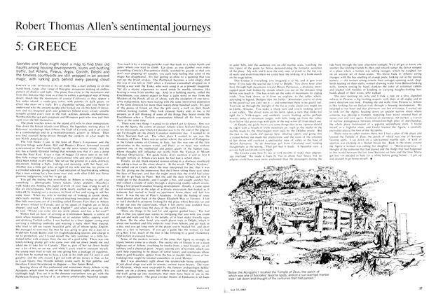 Article Preview: Robert Thomas Allen's sentimental journeys, May 1965 | Maclean's
