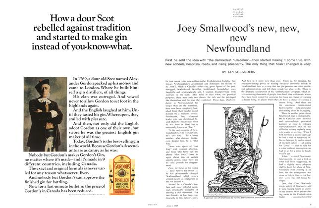 Article Preview: Joey Smallwood's new, new, new Newfoundland, June 1965 | Maclean's