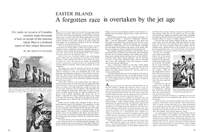 Article Preview: A forgotten race is overtaken by the jet age, June 1965 | Maclean's