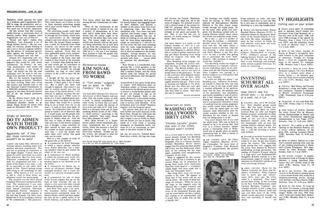 Article Preview: KIM NOVAK: FROM BAWD TO WORSE, June 1965 | Maclean's