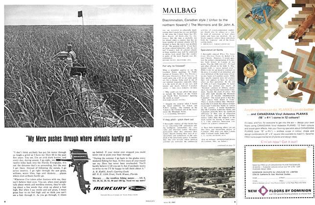 Article Preview: MAILBAG, June 1965 | Maclean's