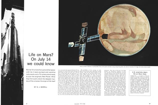 Article Preview: Life on Mars? On July 14 we could know, July 1965 | Maclean's
