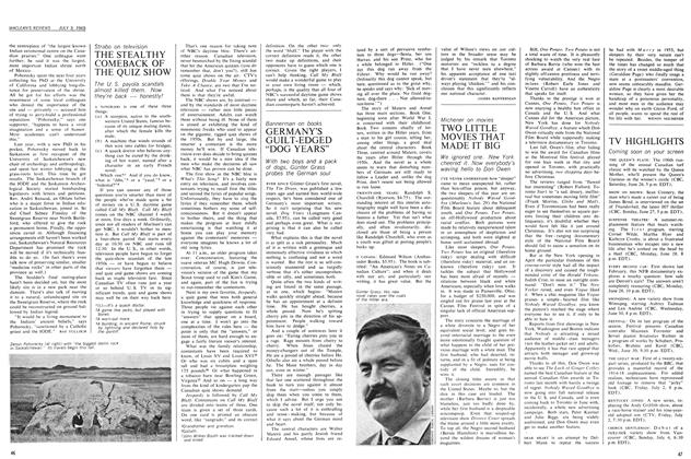 Article Preview: TWO LITTLE MOVIES THAT MADE IT BIG, July 1965 | Maclean's