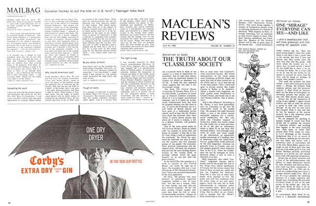 "Article Preview: ONE ""MIRAGE"" EVERYONE CAN SEE—AND LIKE, July 1965 