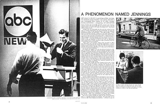 Article Preview: A PHENOMENON NAMED JENNINGS, July 1965 | Maclean's