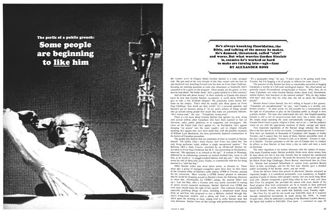 Article Preview: Some people are beginning to like him, August 1965 | Maclean's