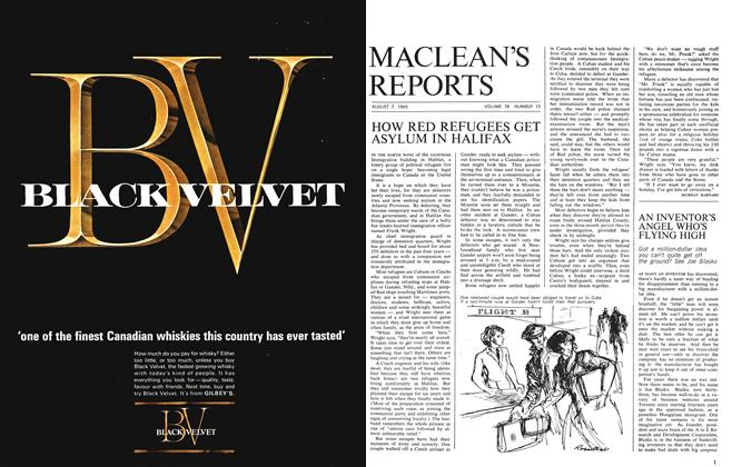 Article Preview: AN INVENTOR'S ANGEL WHO'S FLYING HIGH, August 1965   Maclean's