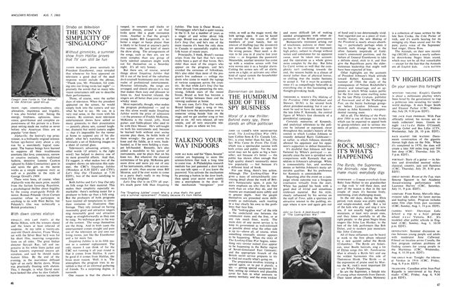 Article Preview: THE HUMDRUM SIDE OF THE SPY BUSINESS, August 1965 | Maclean's