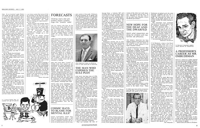 Article Preview: A PROFESSOR'S CAREER AS MR. OMBUDSMAN, August 1965 | Maclean's