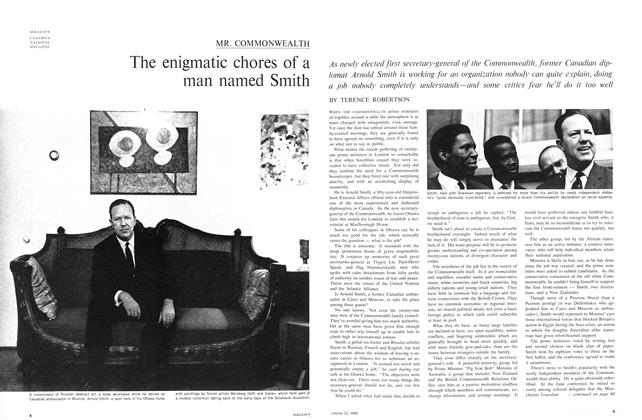 Article Preview: The enigmatic chores of a man named Smith, August 1965 | Maclean's
