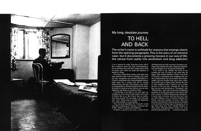 Article Preview: My long, desolate journey TO HELL AND BACK, August 1965 | Maclean's