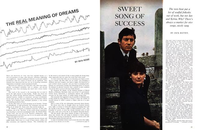 Article Preview: THE REAL MEANING OF DREAMS, August 1965 | Maclean's