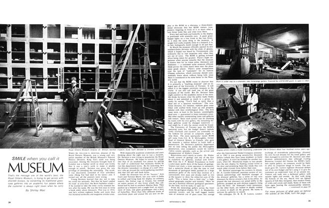 Article Preview: SMILE when you call it MUSEUM, September 1965 | Maclean's