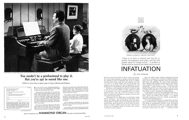 Article Preview: INFATUATION, September 1965 | Maclean's